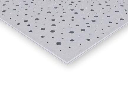 Placa de yeso laminado gama techos continuos Knauf Cleaneo
