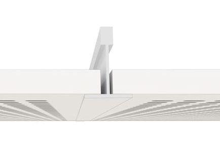 Placa de yeso laminado gama techos registrables Knauf Danoline