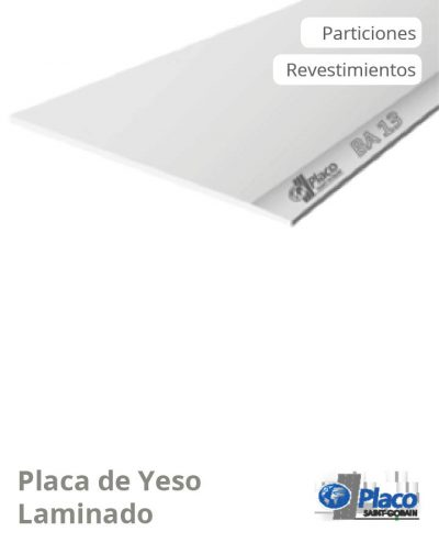 PMGBCe_Placa de Yeso Laminado_PLACO