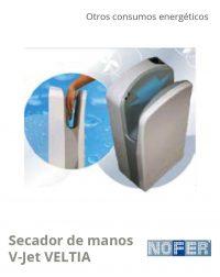 PMGBCe_Secador de manos V-Jet VELTIA_NOFER