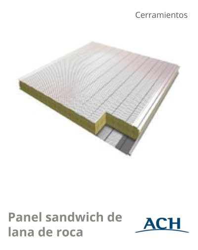 Panel lana de roca_ACH